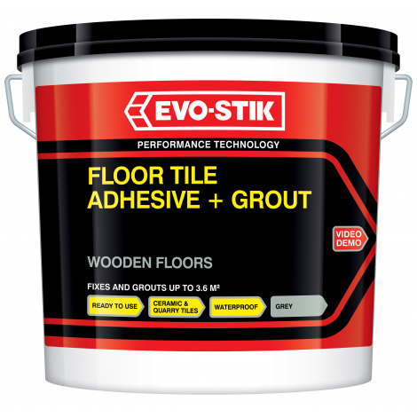 Evo Stik Floor Tile Adhesive And Grout For Wooden Floors