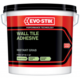 Wall tile adhesive instant grab